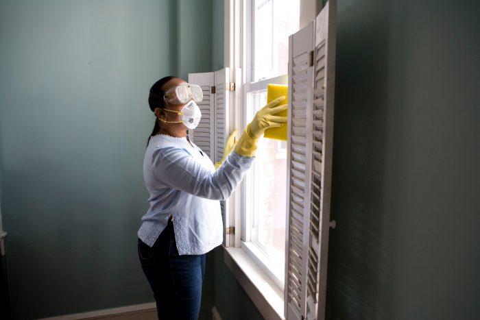 limpiar ventana